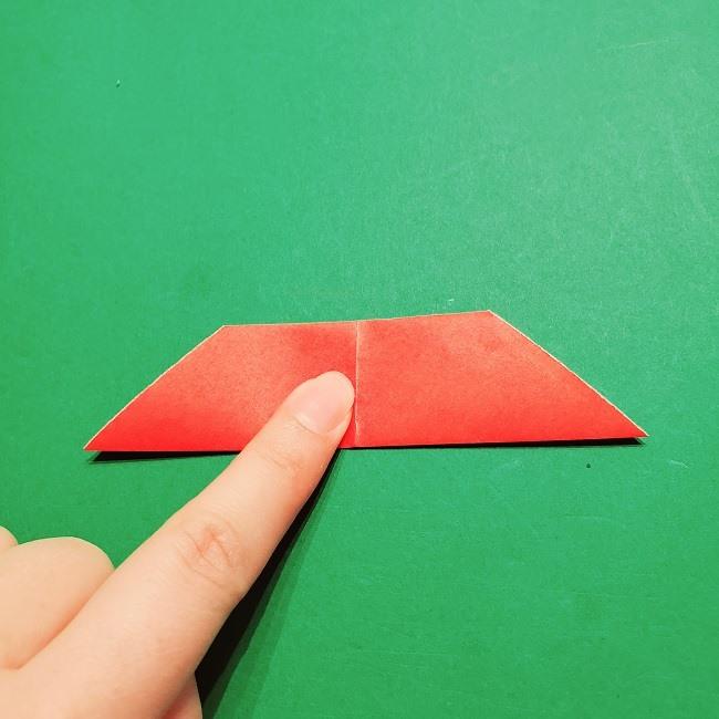 【1月】折り紙のお正月リースの作り方 (6)