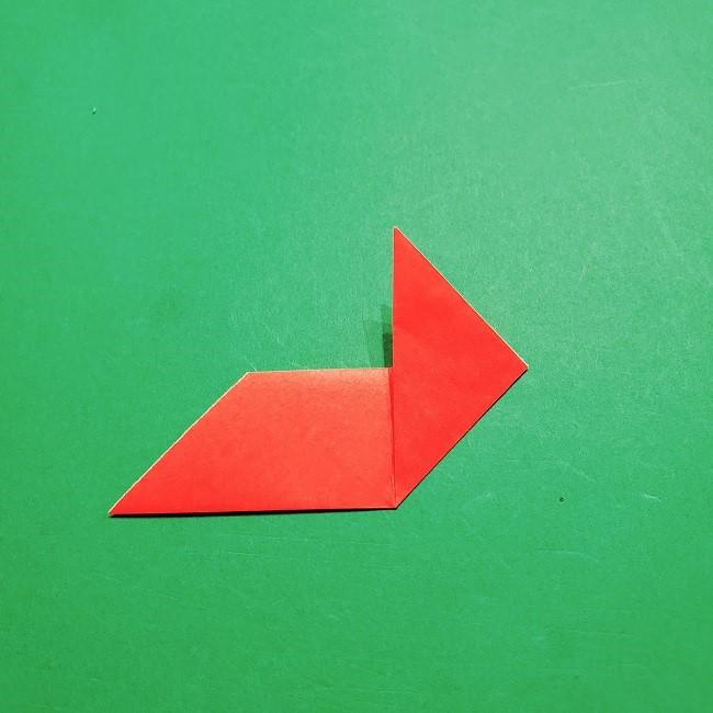 【1月】折り紙のお正月リースの作り方 (7)