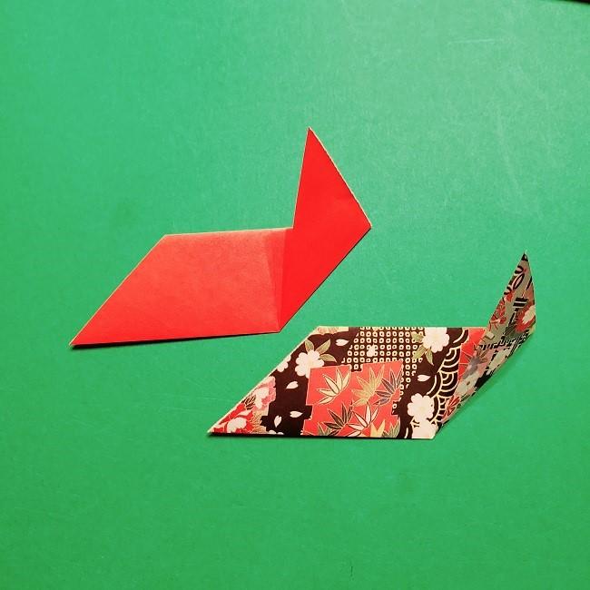 【1月】折り紙のお正月リースの作り方 (9)