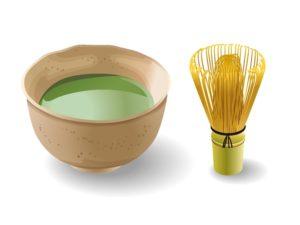 喫茶『椿』では抹茶がいただける