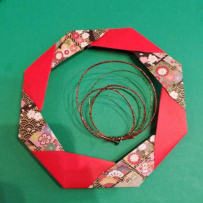 折り紙でつくるお正月飾り★水引と干支の牛でさらにかわいいアレンジ (1)