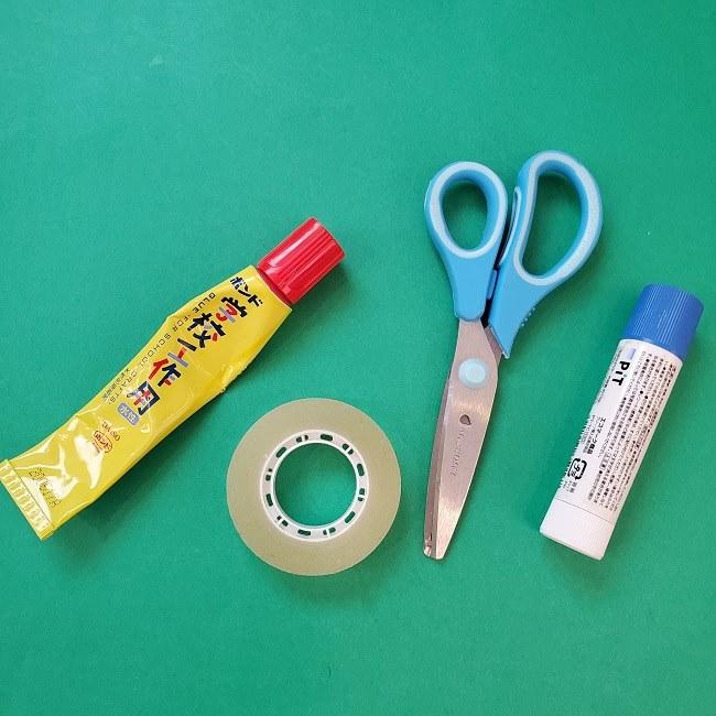折り紙でつくるお正月飾り・用意道具
