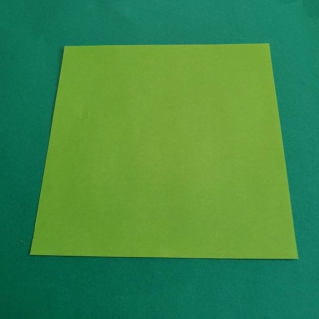 折り紙でつくる門松:用意するもの