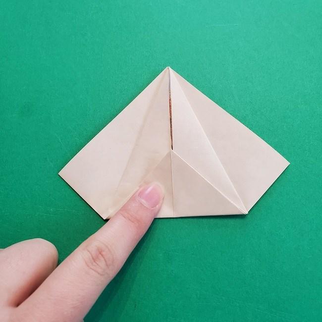 折り紙の【祝い鶴】の折り方(折り図) (12)