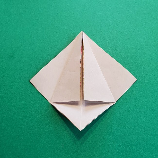 折り紙の【祝い鶴】の折り方(折り図) (13)