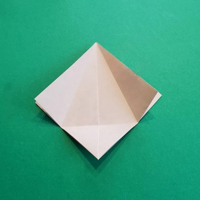 折り紙の【祝い鶴】の折り方(折り図) (14)