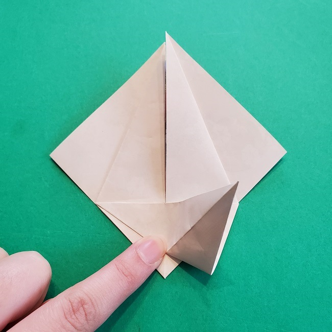 折り紙の【祝い鶴】の折り方(折り図) (18)