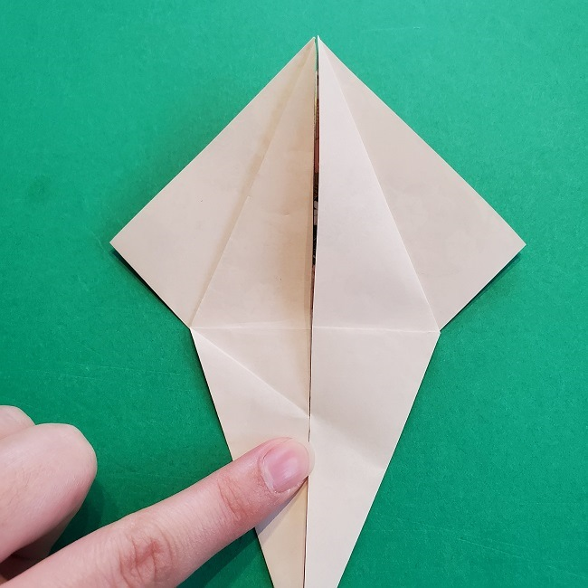 折り紙の【祝い鶴】の折り方(折り図) (19)