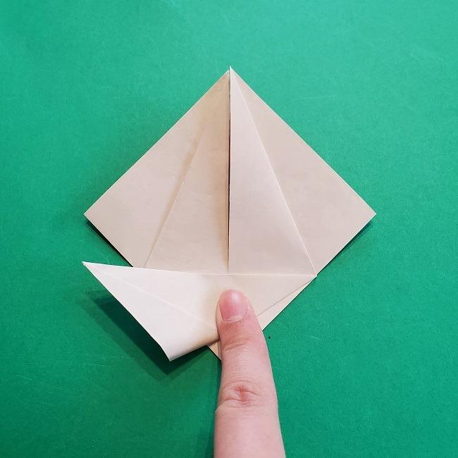 折り紙の【祝い鶴】の折り方(折り図) (20)
