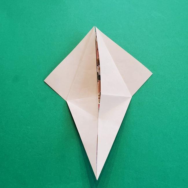 折り紙の【祝い鶴】の折り方(折り図) (21)