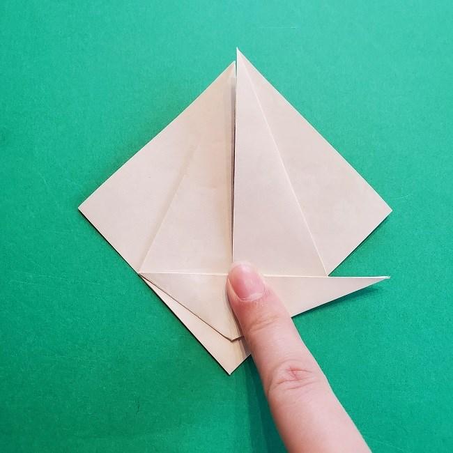 折り紙の【祝い鶴】の折り方(折り図) (23)