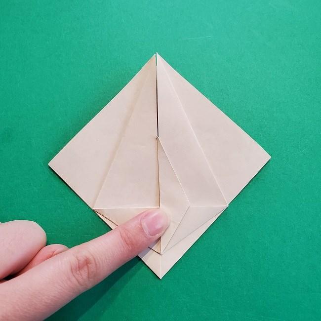 折り紙の【祝い鶴】の折り方(折り図) (24)