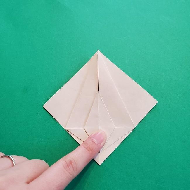 折り紙の【祝い鶴】の折り方(折り図) (26)