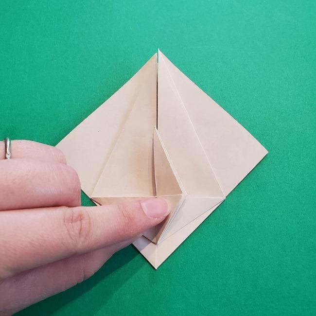 折り紙の【祝い鶴】の折り方(折り図) (27)