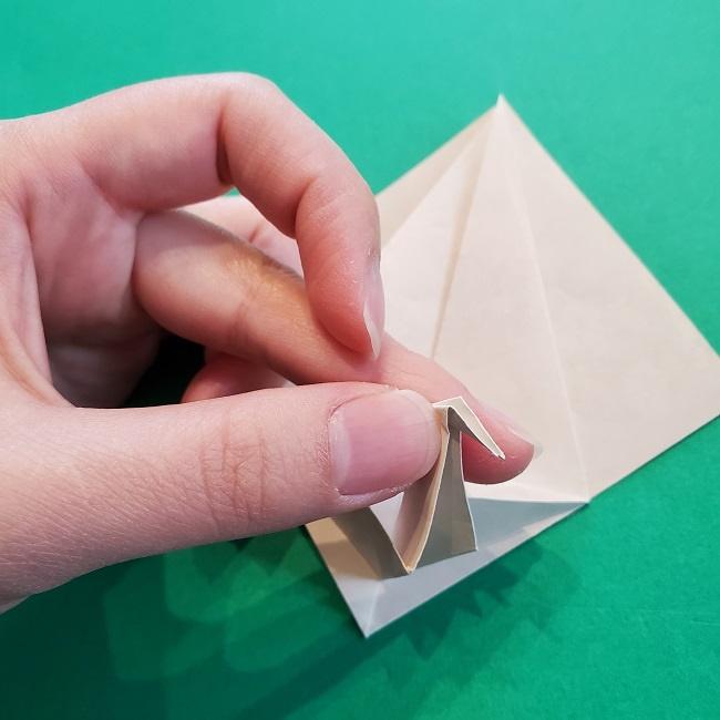 折り紙の【祝い鶴】の折り方(折り図) (29)