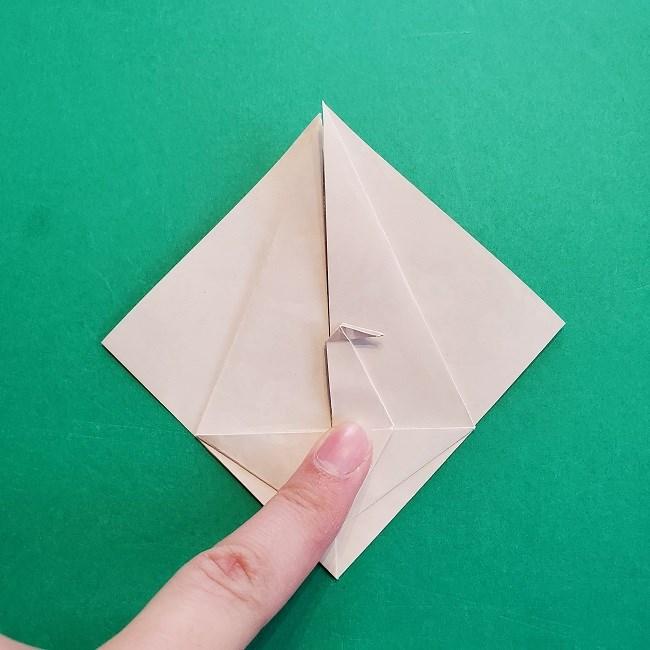 折り紙の【祝い鶴】の折り方(折り図) (30)