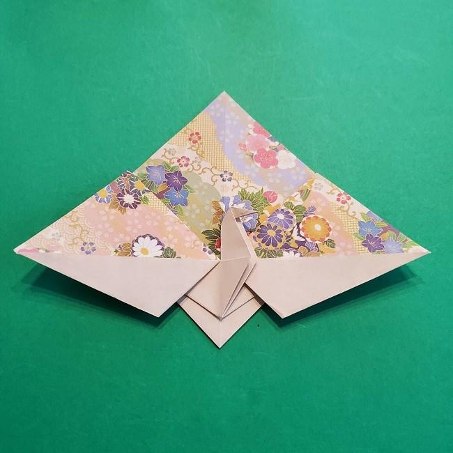 折り紙の【祝い鶴】の折り方(折り図) (36)