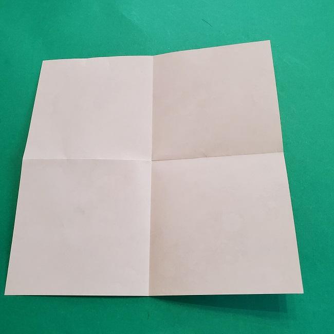折り紙の【祝い鶴】の折り方(折り図) (4)
