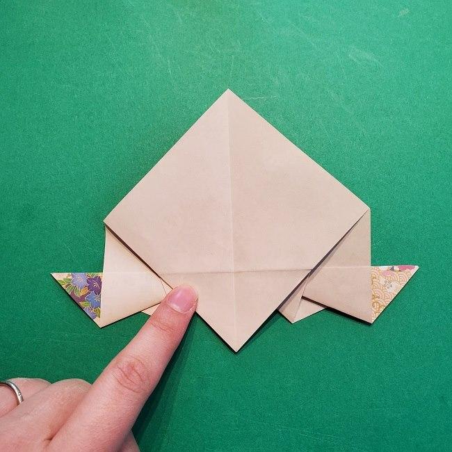 折り紙の【祝い鶴】の折り方(折り図) (41)