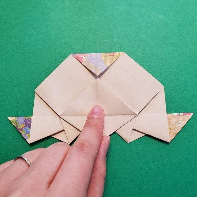 折り紙の【祝い鶴】の折り方(折り図) (43)