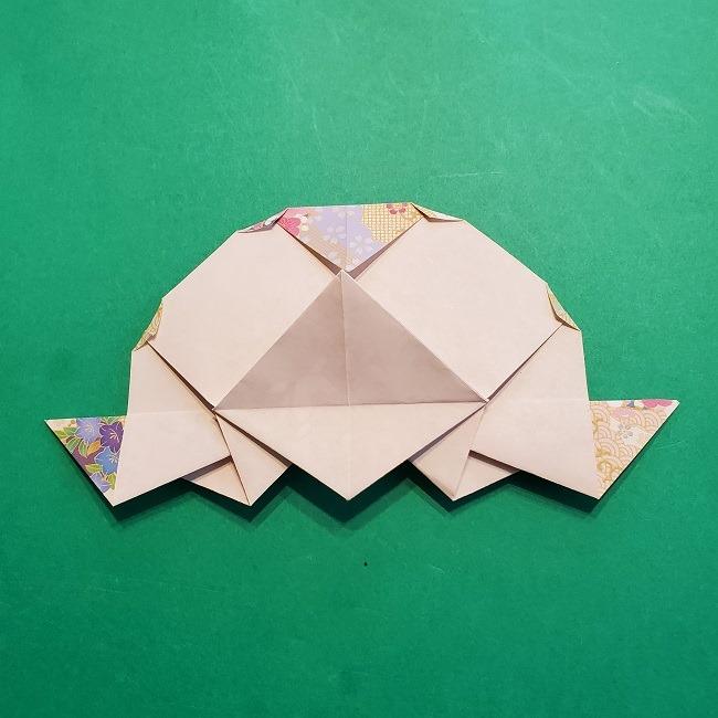折り紙の【祝い鶴】の折り方(折り図) (45)