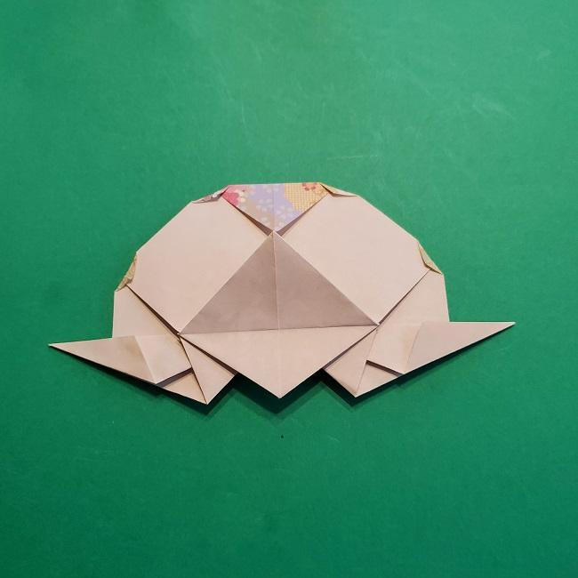 折り紙の【祝い鶴】の折り方(折り図) (47)