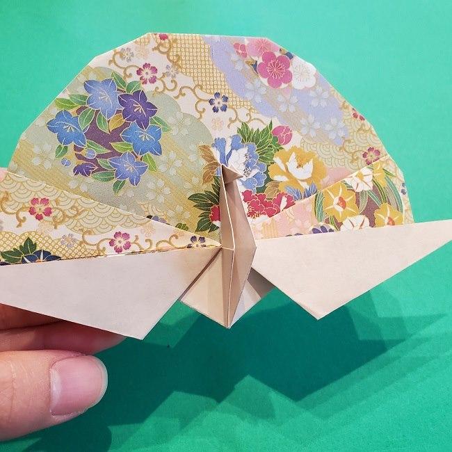 折り紙の【祝い鶴】の折り方(折り図) (48)