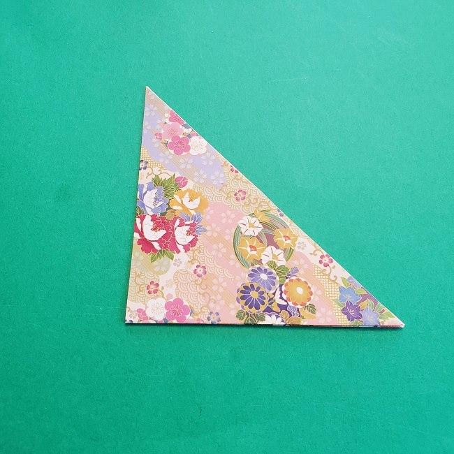 折り紙の【祝い鶴】の折り方(折り図) (6)