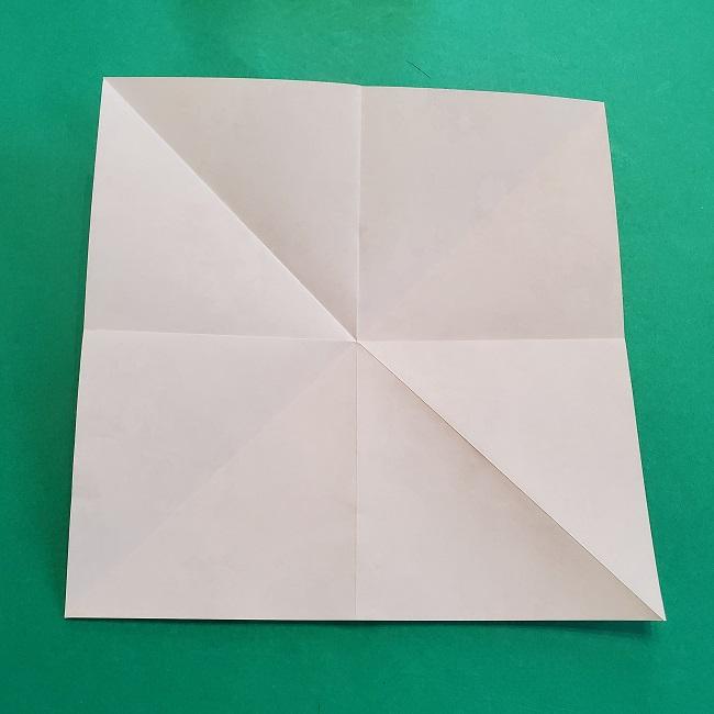折り紙の【祝い鶴】の折り方(折り図) (7)