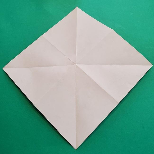 折り紙の【祝い鶴】の折り方(折り図) (8)