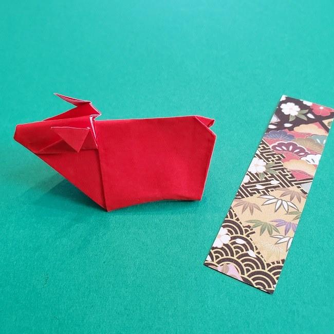 折り紙の牛の折り方は簡単♪作り方は? (30)