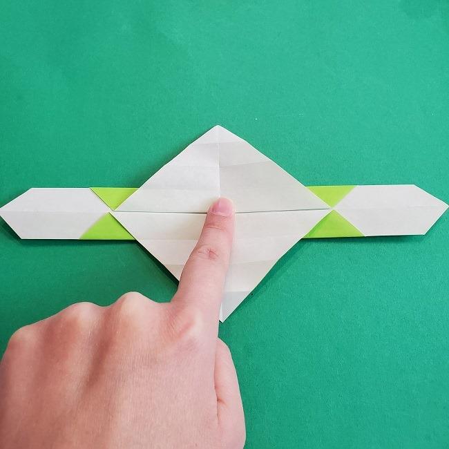 門松の折り紙:子どもとつくった折り方を紹介 (11)