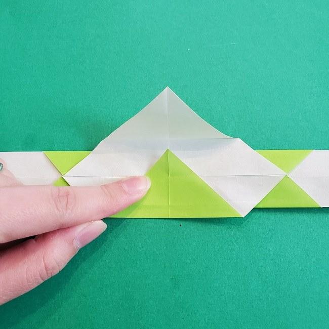 門松の折り紙:子どもとつくった折り方を紹介 (12)