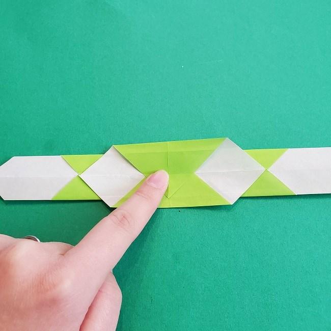 門松の折り紙:子どもとつくった折り方を紹介 (13)