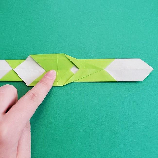 門松の折り紙:子どもとつくった折り方を紹介 (14)