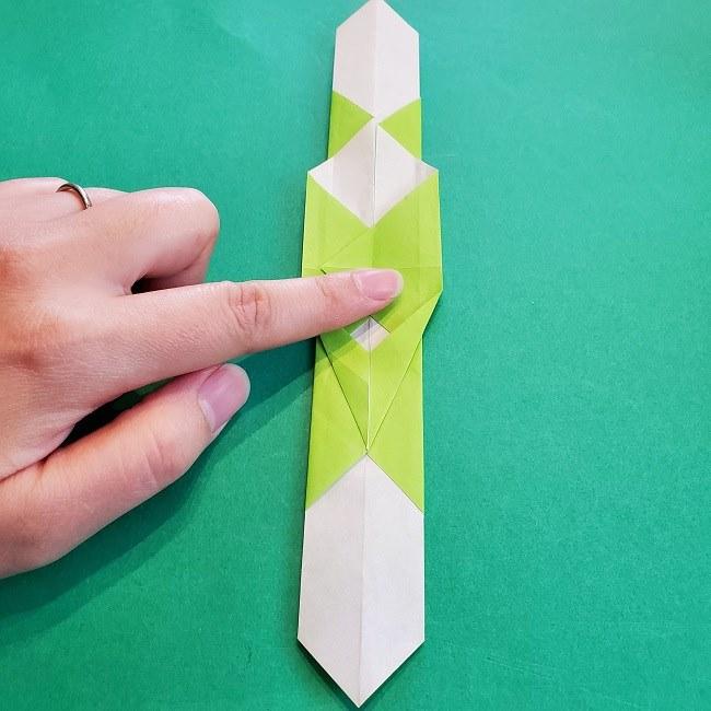 門松の折り紙:子どもとつくった折り方を紹介 (15)
