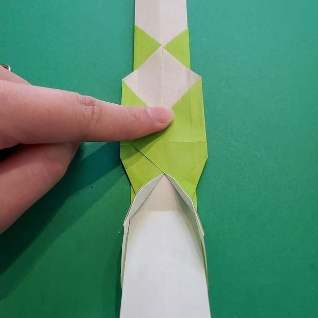 門松の折り紙:子どもとつくった折り方を紹介 (17)