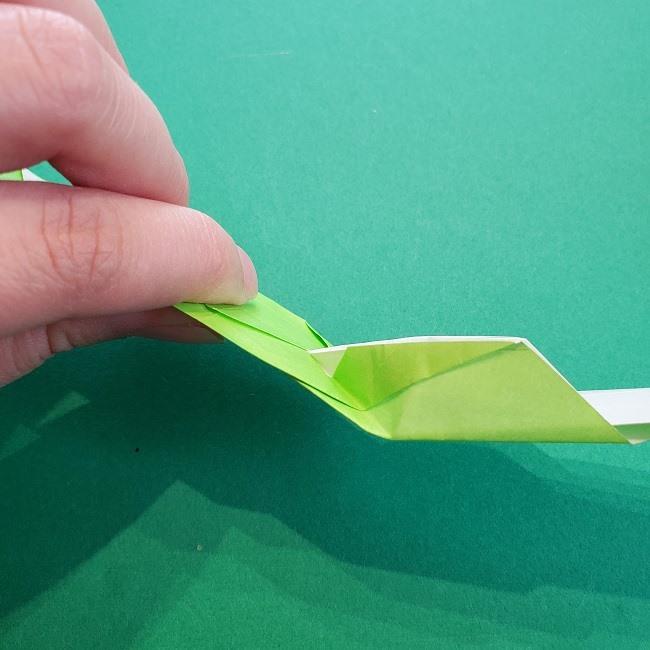 門松の折り紙:子どもとつくった折り方を紹介 (18)