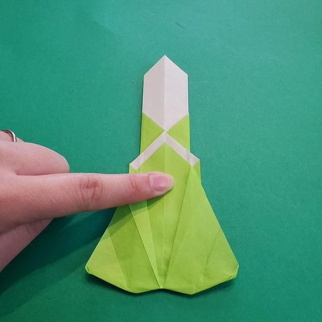 門松の折り紙:子どもとつくった折り方を紹介 (20)