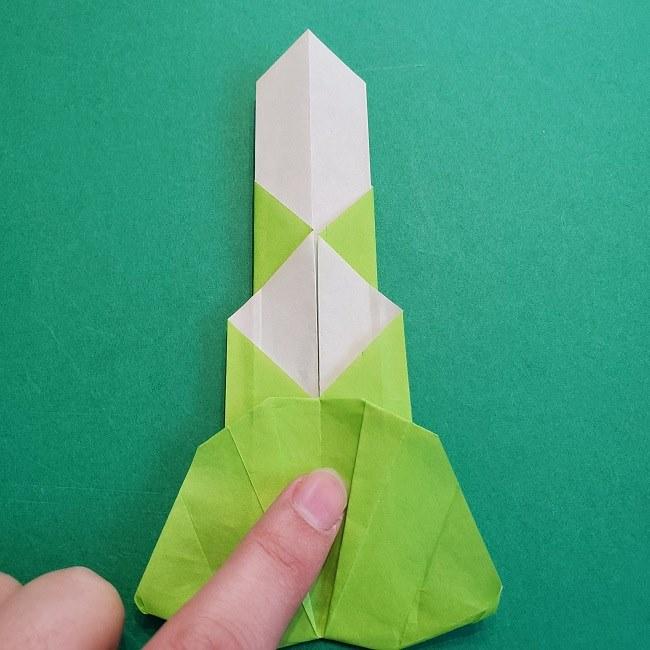 門松の折り紙:子どもとつくった折り方を紹介 (22)