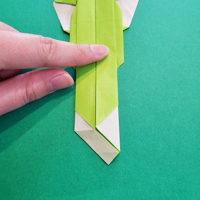 門松の折り紙:子どもとつくった折り方を紹介 (24)