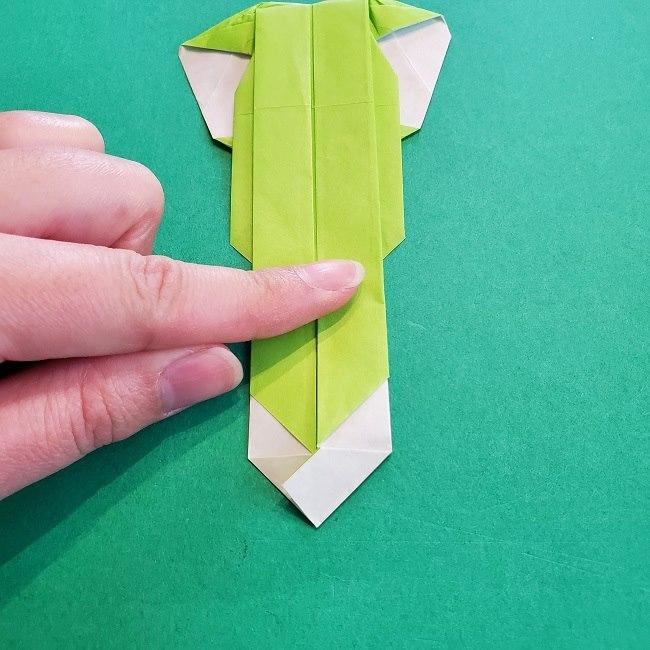 門松の折り紙:子どもとつくった折り方を紹介 (25)