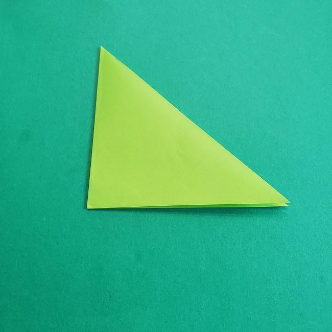 門松の折り紙:子どもとつくった折り方を紹介 (3)
