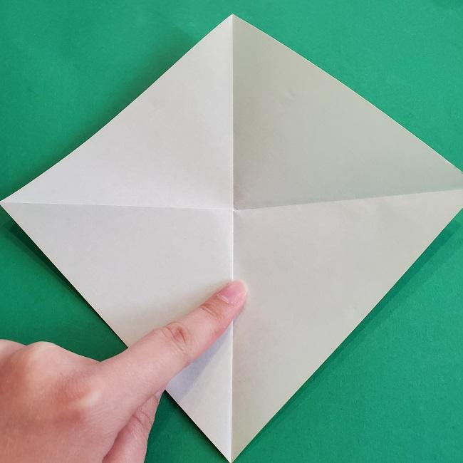 門松の折り紙:子どもとつくった折り方を紹介 (4)