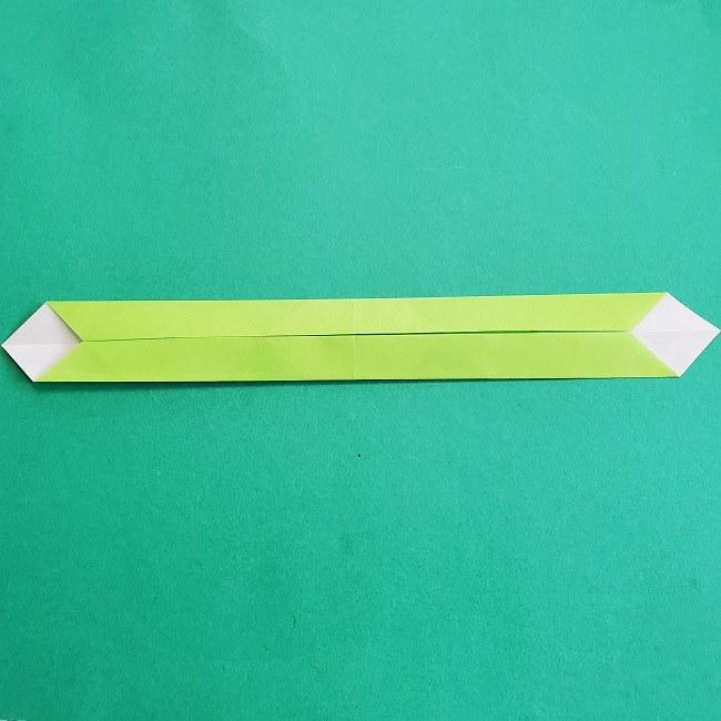 門松の折り紙:子どもとつくった折り方を紹介 (7)