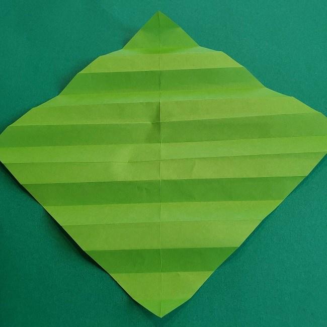 門松の折り紙:子どもとつくった折り方を紹介 (8)