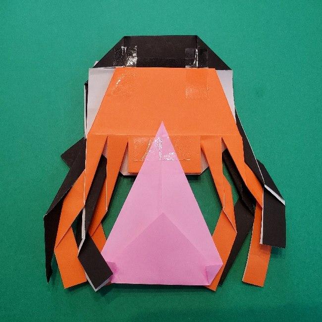 鬼滅の刃の折り紙『ねずこ』の着物の折り方
