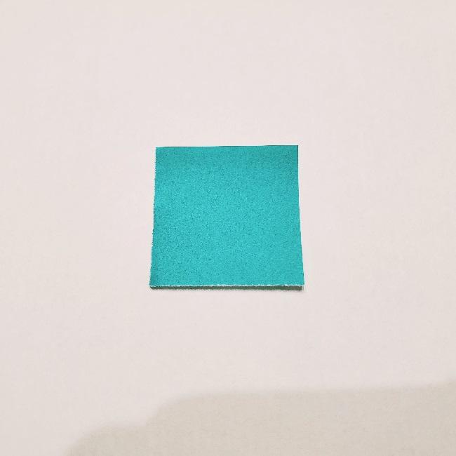 ねすこのトレードマーク『竹筒』の作り方(折り紙は1/16サイズ)