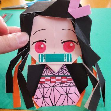 鬼滅の刃(きめつの刃)の折り紙『ねずこ』の折り方★簡単でかわいい人気のキャラクターを手作り♪