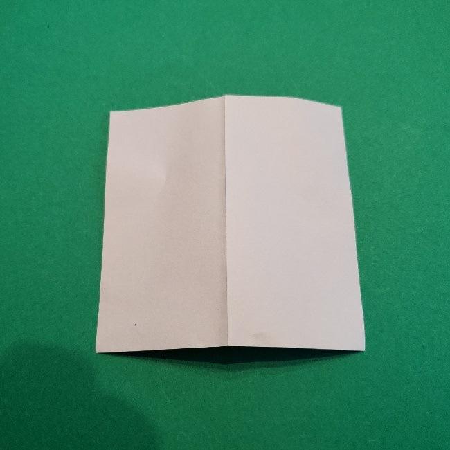 伊之助の刀の折り方(折り紙は1/4サイズ)